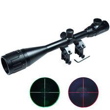 6-24x50 Hunting Rifle Scope Red & Green mil-dot illuminated Optical Gun Scope