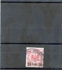 GERMAN OFFICES IN TURKEY Sc 9(MI 7e)VF USED $1200