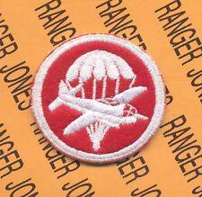 US Army Airborne Artillery Regt Parachute Glider Jet Officer Hat patch #59