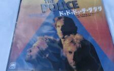 THE POLICE - DE DO DO DO,DE DA DA DA, jap sting vocals  VERY RARE! JAPAN import