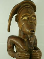 More details for museum quality carved african tribal figure extremely rare & unusual l@@k