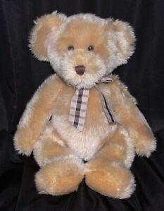 RUSS Plush Stuffed Beanie Bear KIPLING 16 Inch Brown Toy Furry