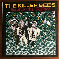 KILLER BEES Scratch the Surface LP Scarce Austin Texas private roots reggae