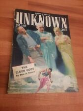 Unknown pulp magazine - October 1939 - Sturgeon, Campbell, Munn