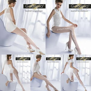 WEDDING Collection Tights  Bridal White Charme