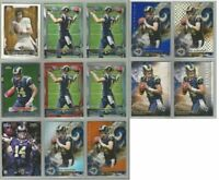 Sean Mannion Rams Oregon State 13 card 2015 Topps brands RC lot-all different