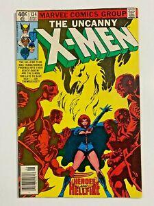 Uncanny X-Men #134 VF 1st Appearance of Dark Phoenix Newsstand Edition!