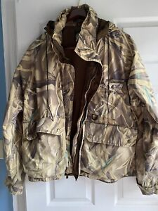 Ducks Unlimited Gore Tex Large Duck Hunting Jacket