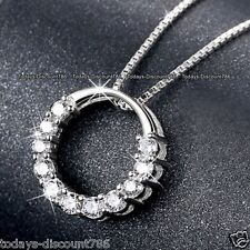 925 Silver Infinity Necklaces Love Pendant Gifts For Her Wife Mum Daughter Women