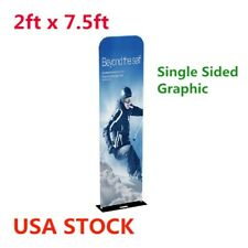 New Listing2ft 32mm Exhibition Booth Pop Up Amp Booth Displays Fabric Tension Display