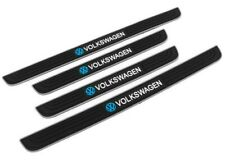 4PCS Silver Rubber Car Door Scuff Sill Cover Panel Step Protector For Volkswagen
