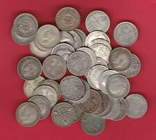 More details for 48 silver three pence coins dated between 1911 to 1941 in used fine or better