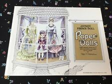 Antique French Doll Paper Dolls by Artist Peggy Jo Rosamond 1975 Vtg New