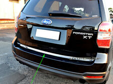 Stainless Steel Rear Trunk Tailgate Edge Trim Protector for Subaru Forester SJ