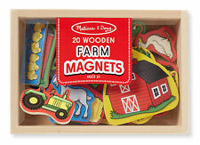 Wooden FARM Magnets  # 9279 ~ Melissa & and Doug ~ ages 3+