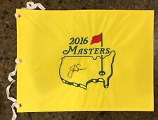 * JACK NICKLAUS * signed autographed * MASTERS FLAG * 6x Winner * PROOF * 6
