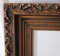 "Antique Fits 16.25""x 20.25"" Autumn Gold Gilt Frame Wood Ornate Gesso Fine Art"