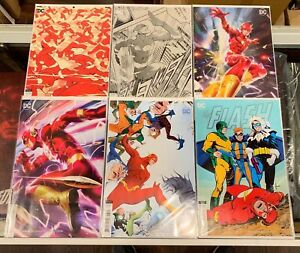 FLASH (2016) #58 59 60 61 62 63 58-63 FORCE QUEST VARIANT COVER SET NM