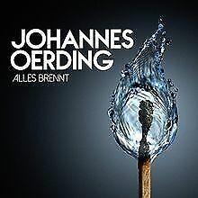 Alles brennt von Johannes Oerding   CD   Zustand gut