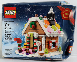 LEGO Christmas Gingerbread House 40139 - 2015 Limited Edition NEW in DAMAGED BOX
