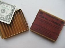 Nice Antique 1893 WINCHESTER Primer Box, Advertising, Gun, Rifle, Reloading
