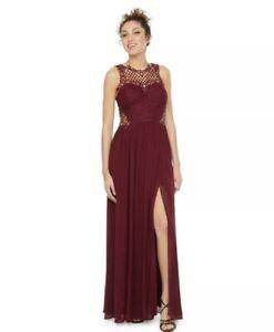 Sleeveless Applique Embellished A-Line Dress Junior Size 1 orig.price$169