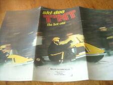 1970 Vintage TNT SKI DOO Snowmobile Brochure 775 440 292 Full Line