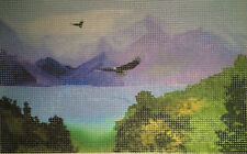 "New ListingNeedlepoint canvas ""Artwork painting"" #Pp10"