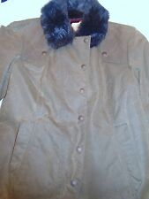 John Partridge of England Waxed Cotton Duffy Jacket NWT US size 8 UK sz 12 $289