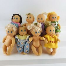 Lot Of 8 Vintage 1994 Baby Dolls by Cititoy