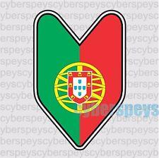 Portugal Flag JDM Design Car Vinyl Decals/Stickers