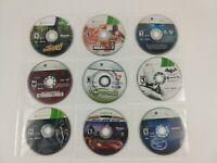 Lot of 9 Xbox 360 Games Batman Arkham City Stranglehold Skyrim NBA 2K Discs Only