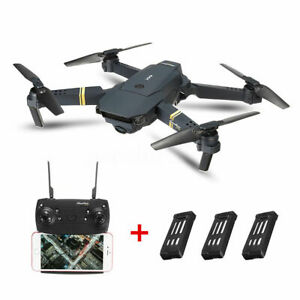 E58 FPV Wifi RC Drone With HD Camera Wide Angel Foldable Quadcopter Selfie Toys