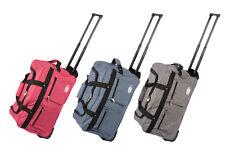 Leonardo Canvas Trolley Tasche 47L Tasche Sporttasche Stoff Koffer Handgepäck