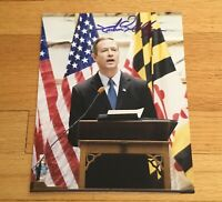 Martin O'Malley Governor Maryland Autograph Signed 8x10 Photo 2016 President #1