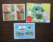 Dominica 1984 Olympics 1985 Grimm Brothers Disney UN Miniature Sheets MNH