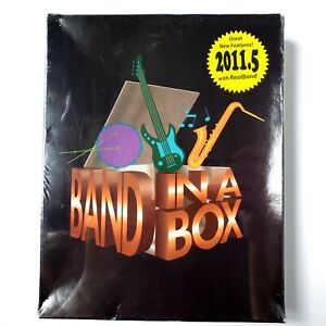 PG Music Band-In-A-Box Pro 2011.5 w/ RealBand (Windows) Brand New Sealed *READ*