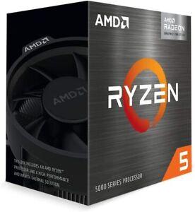 AMD Ryzen 5 5600G 6-Core 12-Thread Desktop Processor with Radeon Graphics