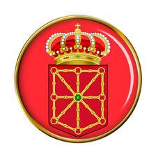 Navarre Navarra (Spin) Pin Badge