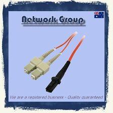 Fiber Optic MTRJ-SC 5 Meter MM DX patch cord 62.5/125 Multimode  Buy 4 Get 5
