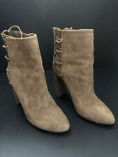 Aldo Tan Suede Ankle Boots. Size 7. Worn Once!