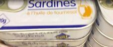 lot revendeur-palette solderie De 12 Boites Sardine Huile Tournesol Petits Prix