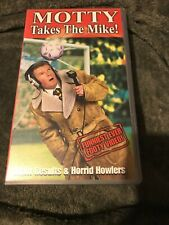 Motty: Takes The Mike! - PAL - Football Comedy TV Show VHS