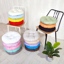 Round Bistro Circular Chair Cushion Seat Pads Kitchen Dining Chairs Cushions Pad