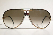 Cazal Vintage Sunglasses 908 - New Old Stock-Col. 331 - Gold, Maroon Red