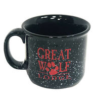 Great Wolf Lodge Coffee Hot Chocolate Mug Cup Large Heavy Thick