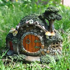 Fairy Garden UK Hobbit Burrow Mystical Garden Indoor Decor Elf Pixie Home 39218