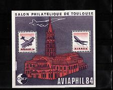 BLOC    CNEP    NUM : 5 A   AVIAPHIL  Toulouse  1984