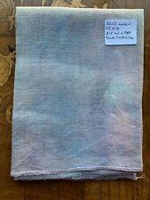 Hand Dyed Fabric Linen Zweigart Base