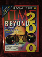 TIME magazine November 8 1999 Beyond 2000 Visions Of The New Century